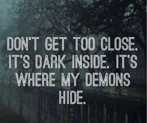 demon, imagine dragons, and Lyrics image