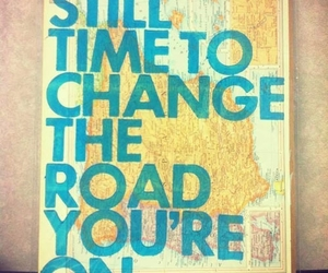 change, road, and time image