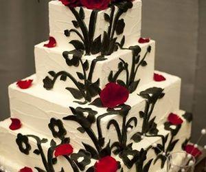 wedding, cake, and candy image