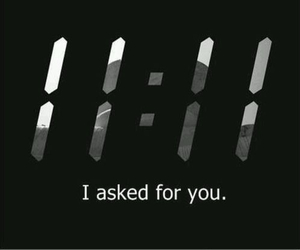 love, 11:11, and wish image