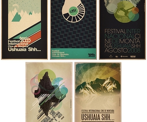 festival, poster, and typography image