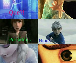 comic, hiccup, and elsa image