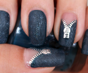 nails and zipper image