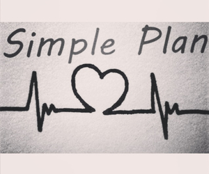 heart, music, and simpleplan image