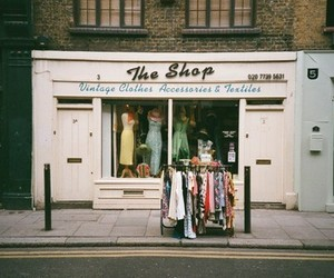 vintage, clothes, and shop image