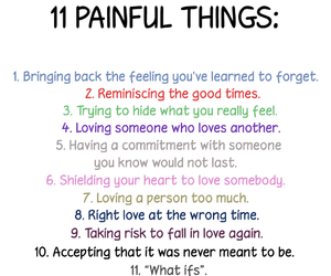 quotes, painful, and pain image