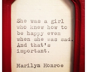 Marilyn Monroe, quote, and girl image