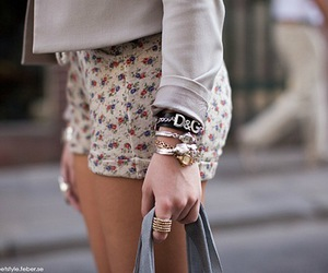 fashion, shorts, and D&G image