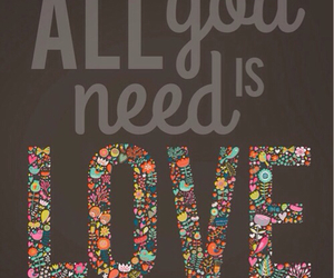 love, need, and quote image