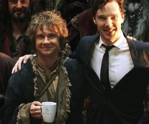 benedict cumberbatch, Martin Freeman, and the hobbit image