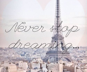 Dream, paris, and dreaming image
