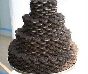 black, chocolate, and Cookies image