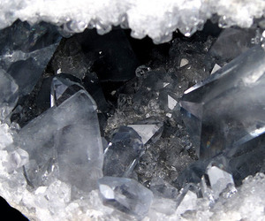 crystal, black, and pale image