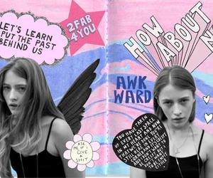 Collage, soft grunge, and grunge image