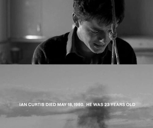 control, ian curtis, and joy division image