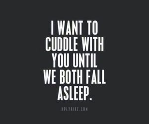 cuddle, love, and quotes image