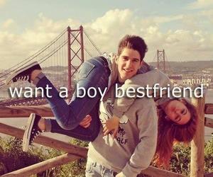 boy, bestfriend, and friends image