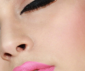 makeup, make up, and pink image