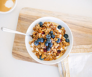 healthy, food, and blueberry image