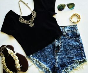 outfit, shorts, and look image