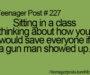 funny, teenager post, and school image