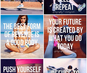 text, fitness, and sport image