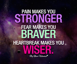brave, strong, and quote image