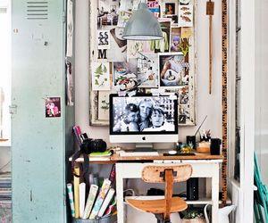 home, design, and desk image