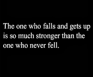 quotes, strong, and fall image