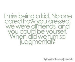 kids, quote, and childhood image