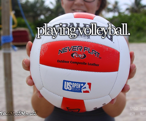 quality, tumblr, and volleyball image