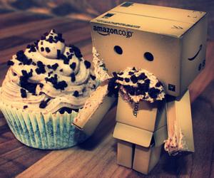 cupcake, danbo, and food image