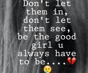 breakup, girl, and hurt image