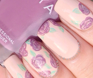 beautiful, nail polish, and nails image