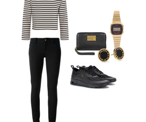bag, black, and casual image