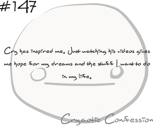 confessions, life, and cryaotic image