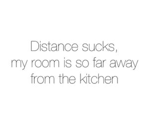 food, love, and distance image
