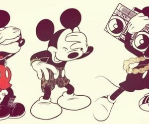 cool, disney, and mickey image