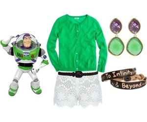 disney, cute, and green image