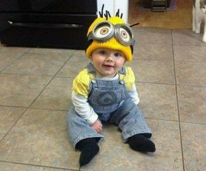 baby, minions, and cute image