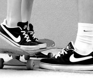 nike, love, and skate image