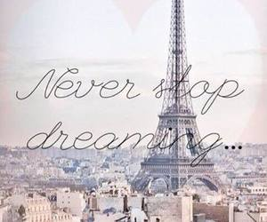Dream, paris, and dreaming image