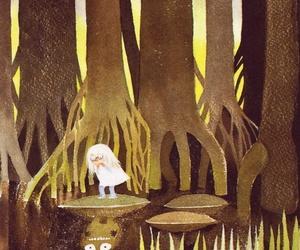 finnish, illustration, and moomin image