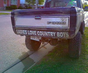 country and truck image