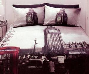 london, bed, and cool image