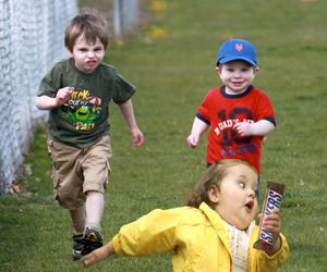funny, snickers, and kids image