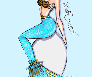 mermaid, hayden williams, and drawing image