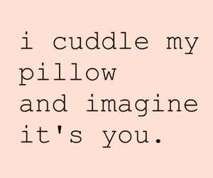 cuddle, love, and pillow image