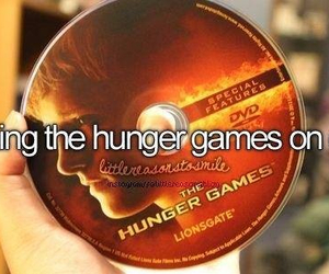 dvd, the hunger games, and hunger games image