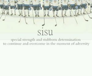 finland, Ice Hockey, and sisu image
